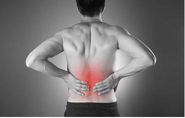 Schmerzen im Rücken