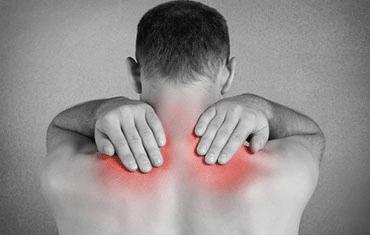 Schmerzen an der Schulter